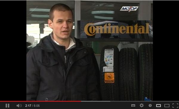 О системе контроля износа грузовых шин Continental